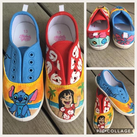 a74919d30445 Shoes - Lilo   Stitch shoes